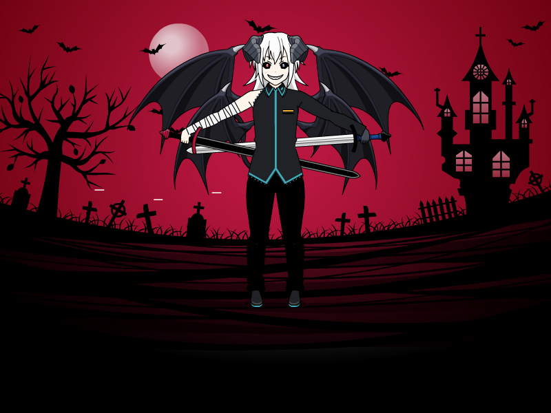 Me as a Demon ( not perfact )