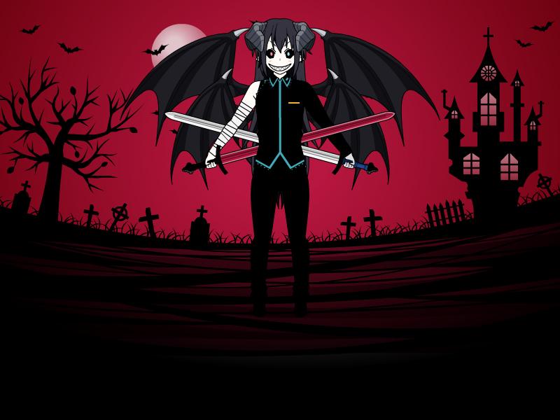 Me as a Demon ( not perfact ) 2