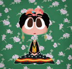 Frida Khalo but she's a Poptropican