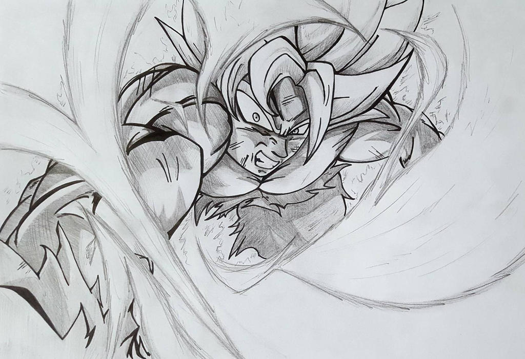 Jimbojimsprites jim deviantart - Goku ultra instinct sketch ...