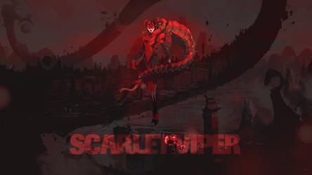 Duelyst - Scarlet Viper (Wallpaper)