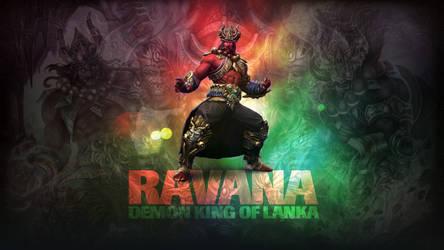 SMITE - Ravana, Demon King of Lanka (Wallpaper)