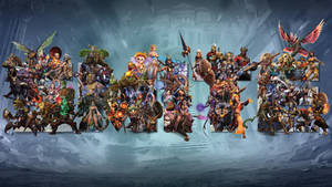 SMITE's Gods Wallpaper