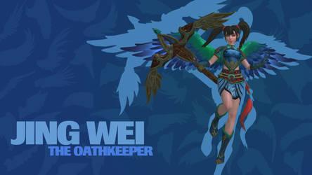 SMITE - Jing Wei, The Oathkeeper (Wallpaper)