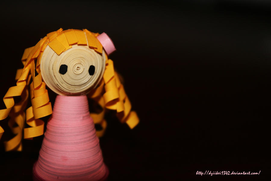 Quilling Paper Size Paper Quilling Girl by