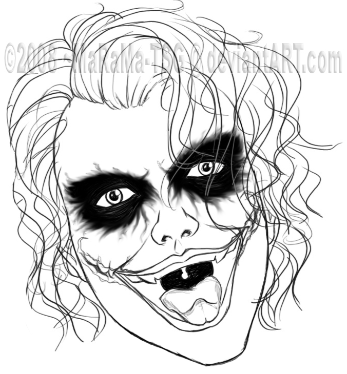 Dibujos Del Joker   Dibujos Para Colorear   AColorear
