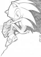 Sonic The Hedgehog by MaRaMa-Artz