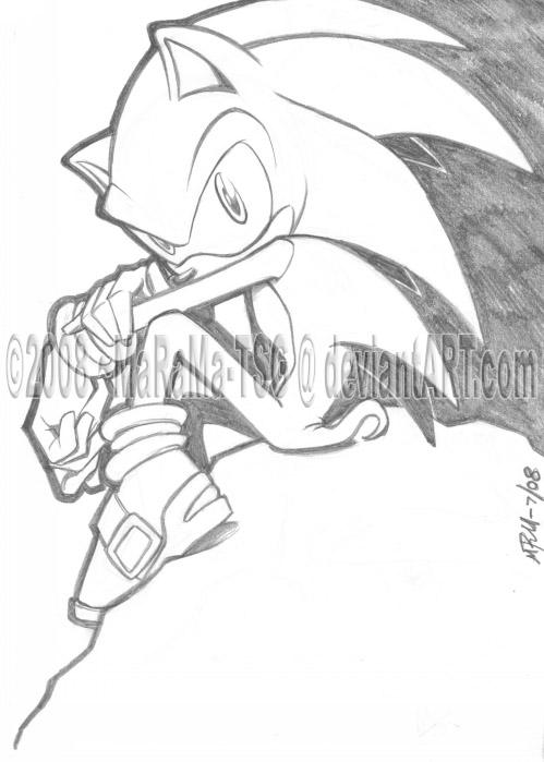 Sonic The Hedgehog by MaRaMa-TSG