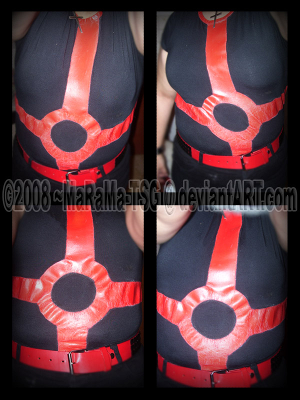 Red + Black Robotnik Shirt by MaRaMa-TSG