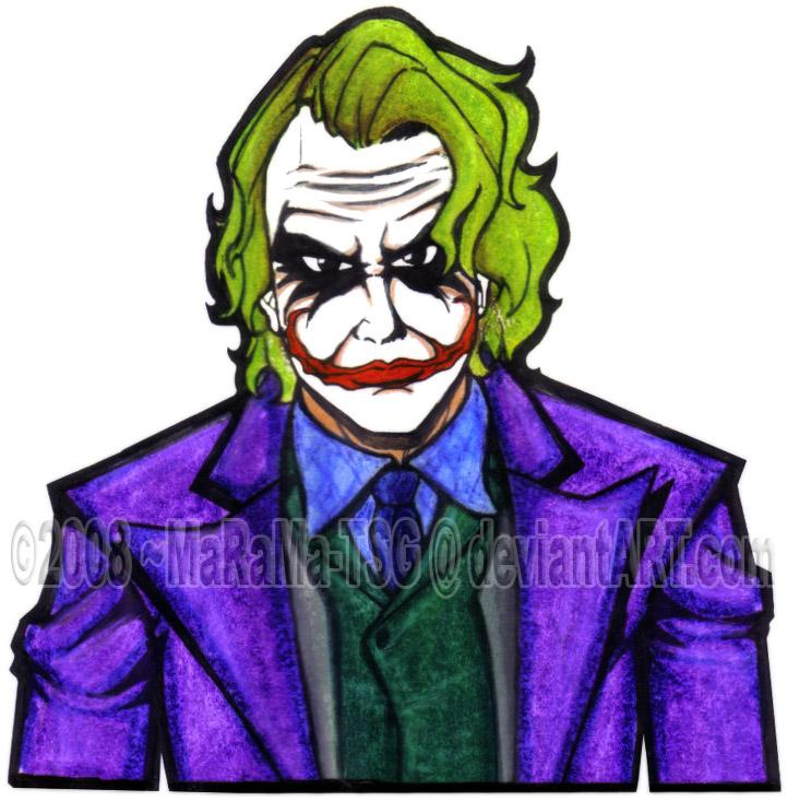 Cartoon Joker By Marama Artz On Deviantart