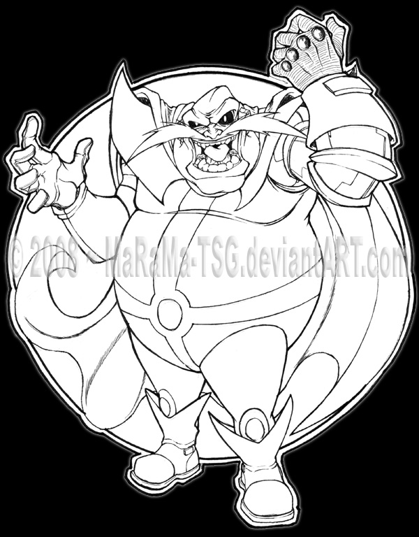 Doctor eggman coloring pages wallpapers