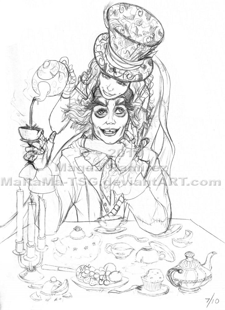 AiW Sketchdump: MAlice- Pieces by MaRaMa-TSG
