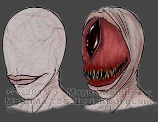 Silent Hill Nightmare Creature by MaRaMa-Artz