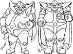 Robotnik Drawing Styles