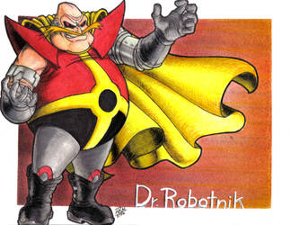 Dr. Robotnik by MaRaMa-Artz