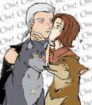 Toboe's  not so secret Crush