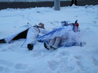 Snow angels by Toboe