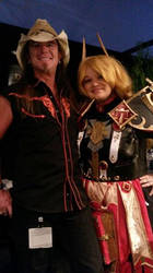 Scott McNeil At Blizzcon by Toboe