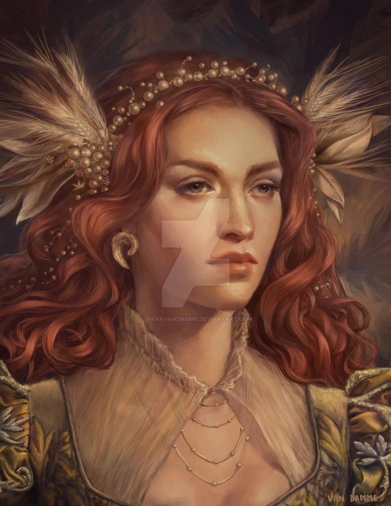 Elizabeth by DianaVanDamme