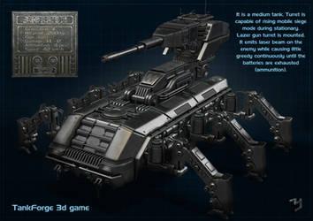 Tank Scorpion by ZICIONEL