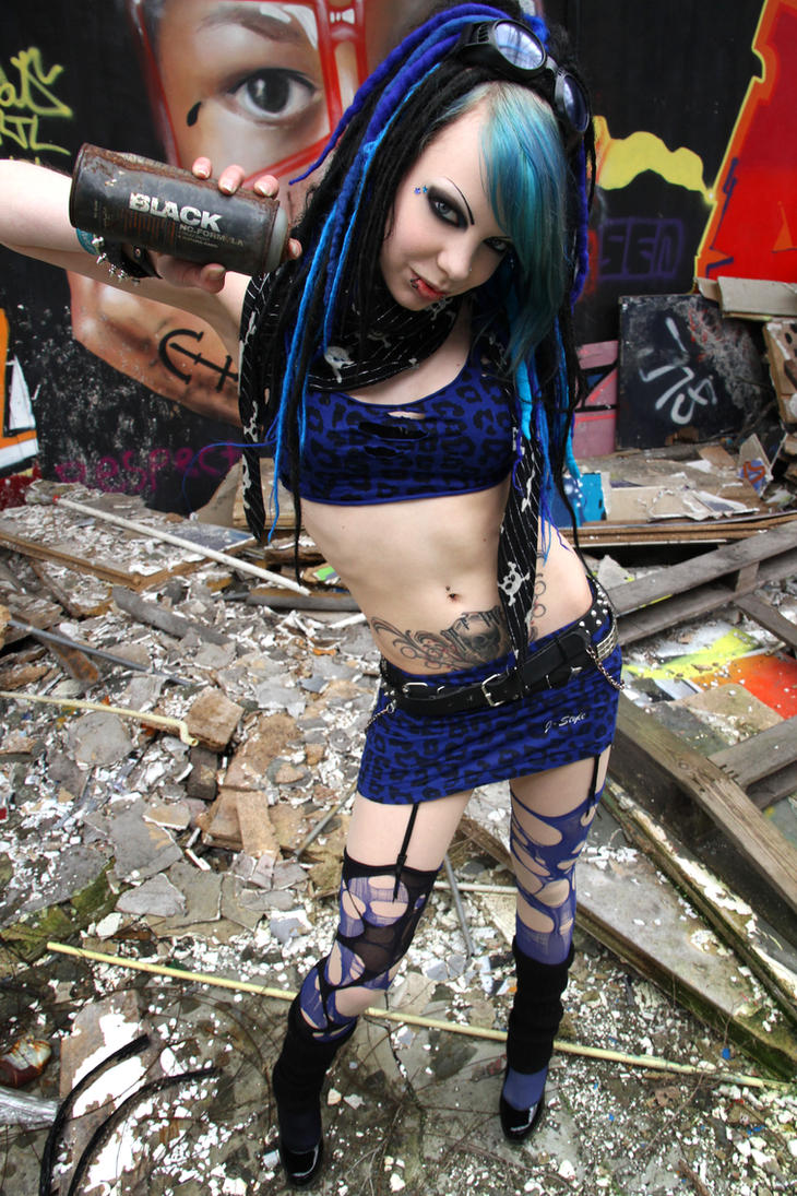 Refuse. Nude cyber goth girl think