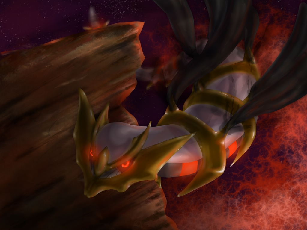 Giratina: Origin Form by alocinn on DeviantArt