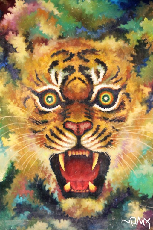 Painting of Tiger by Pramin