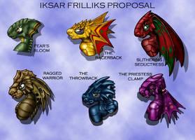 Iksar Frillik Styles by DPRagan