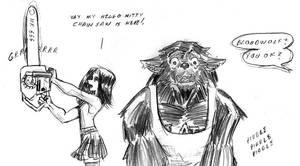 Bloodwolf's Bad BAD Day