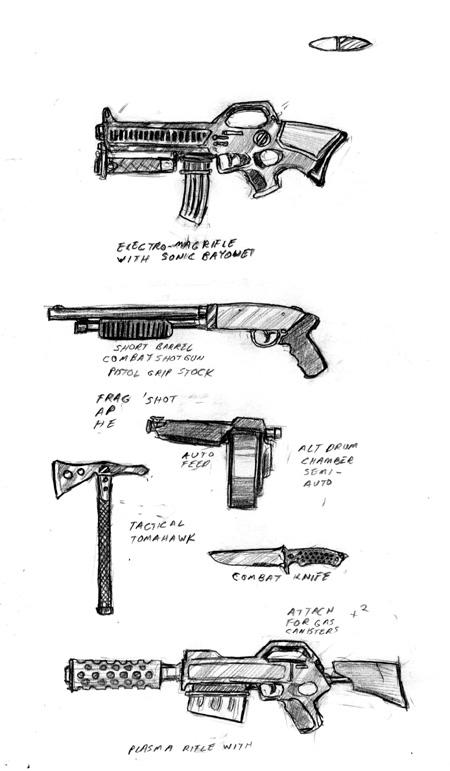 Advanced Small-Arms II by DPRagan