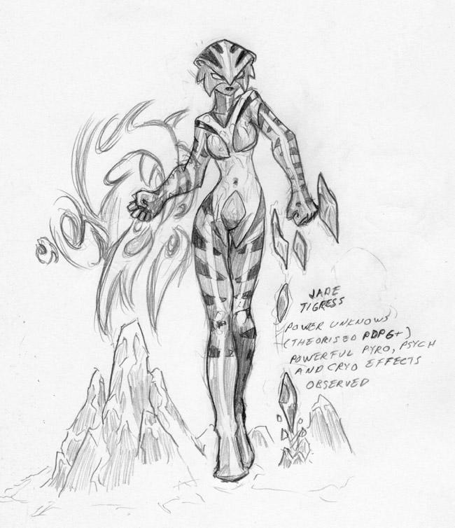 The Jade Tigress by DPRagan