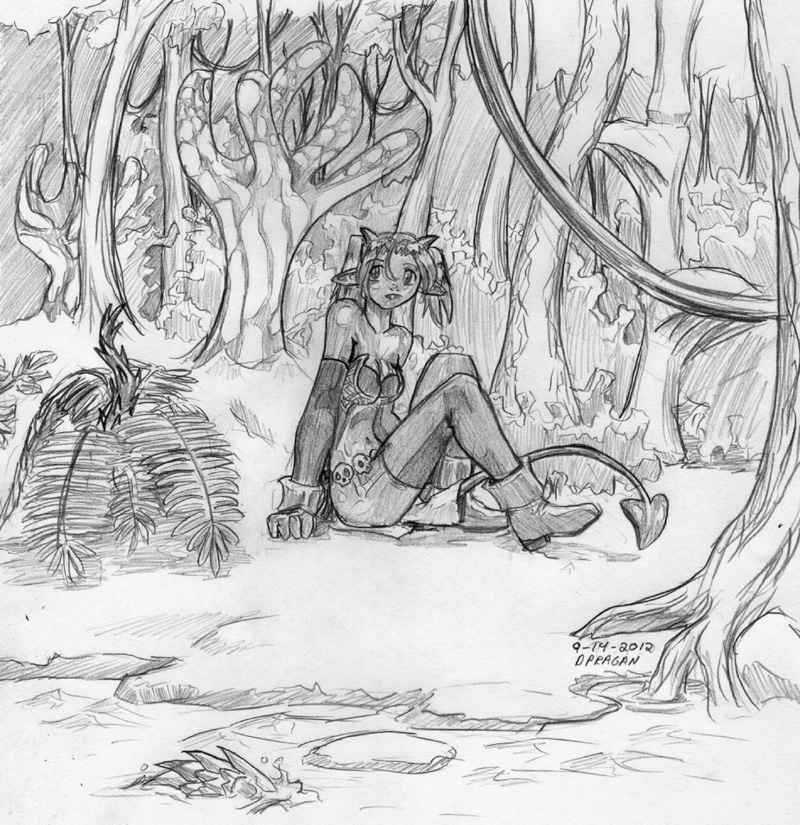 Hell-World Jungle by DPRagan