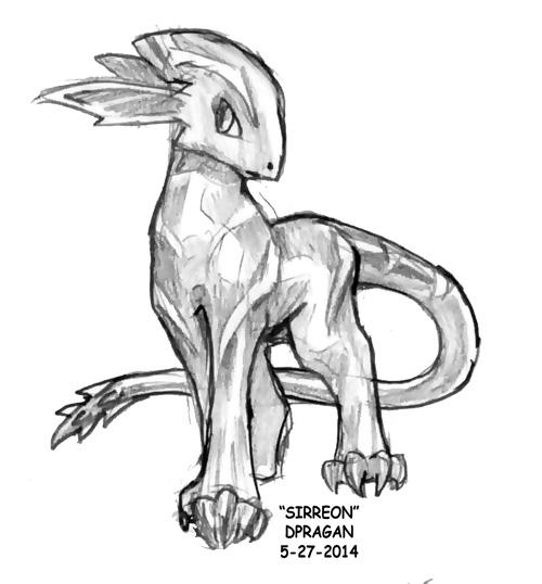 Sirreon -Pokemon FanWork- by DPRagan