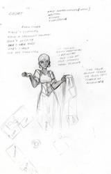 Dopplganger Seamstress by DPRagan