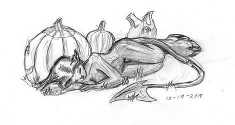 Sleepy Satyri by DPRagan