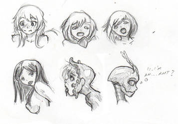 Expression Practice by DPRagan