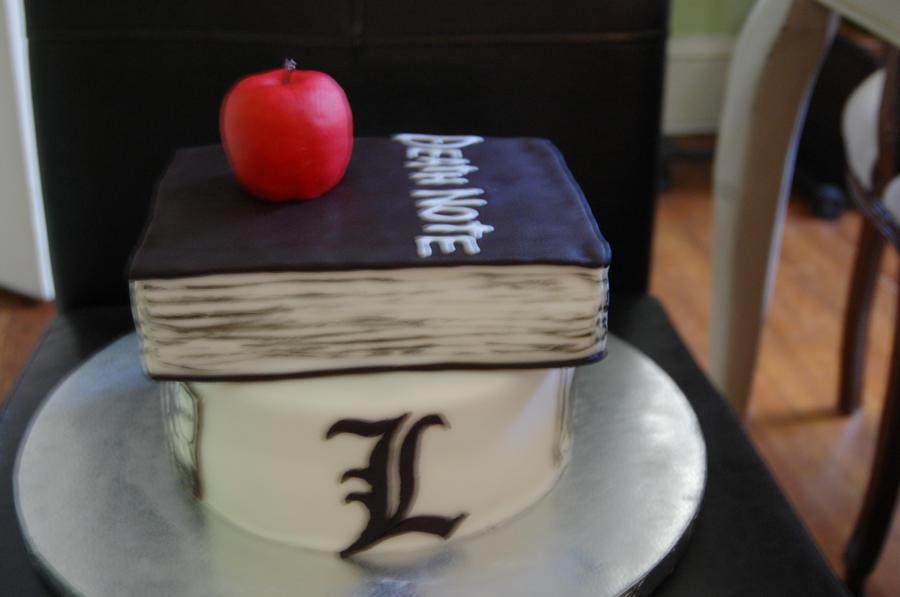 death note L Lawliet cake by sydney96 on DeviantArt