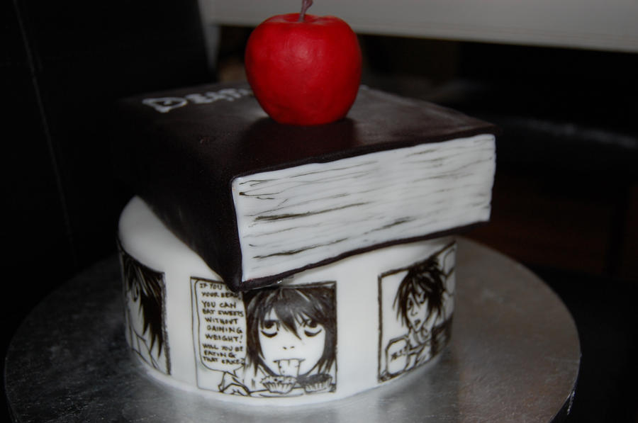 death note cake L lawliet by sydney96 on DeviantArt