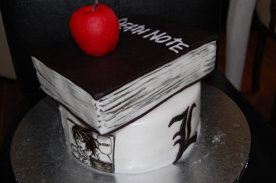 Death Note Birthday Cake By Sydney96 On Deviantart