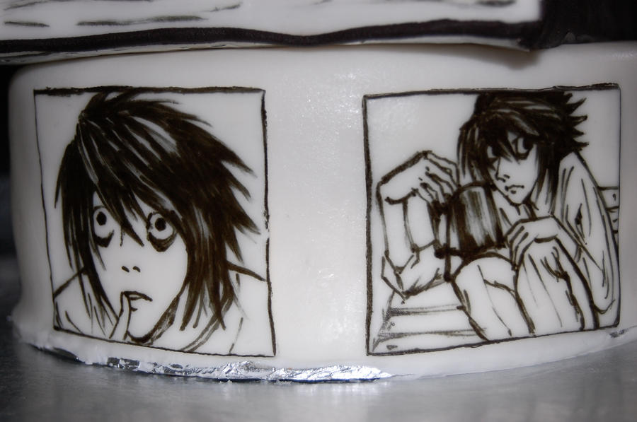 death note birthday cake L by sydney96 on DeviantArt