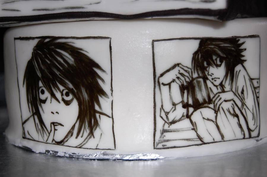 death note birthday cake L by sydney96 on DeviantArt