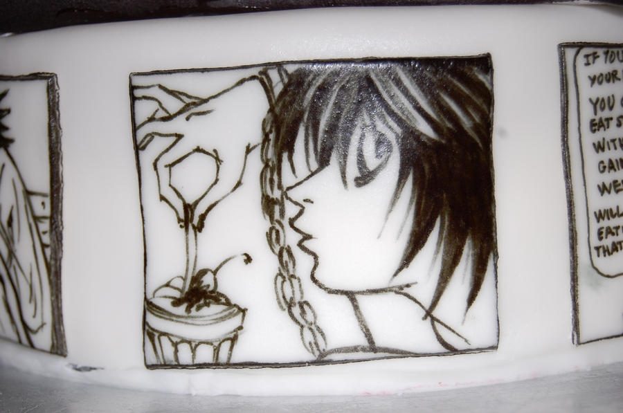 death note cake L by sydney96 on DeviantArt