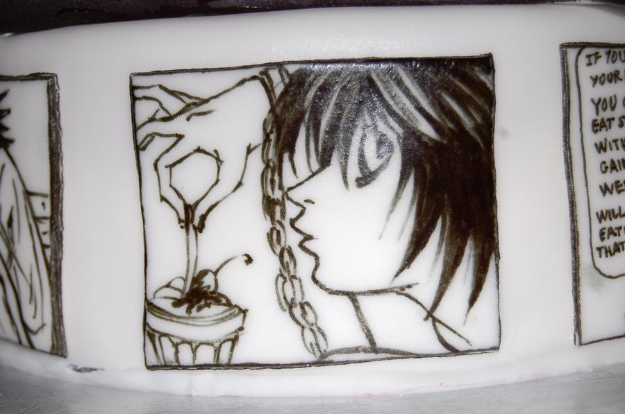 death note cake L by sydney96 on DeviantArt
