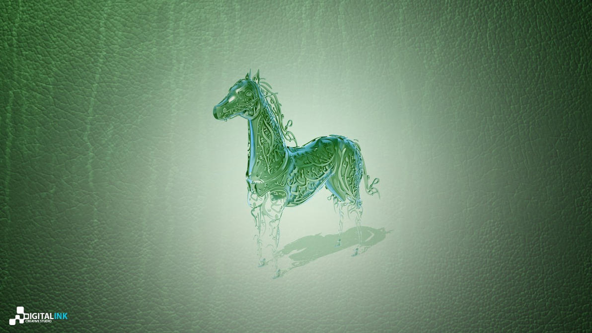 Calligraphy Horse Kuwait Tv By Digitalinkcs On Deviantart