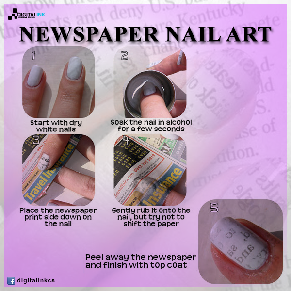 Newspaper nail art by digitalinkcs on deviantart newspaper nail art by digitalinkcs prinsesfo Image collections