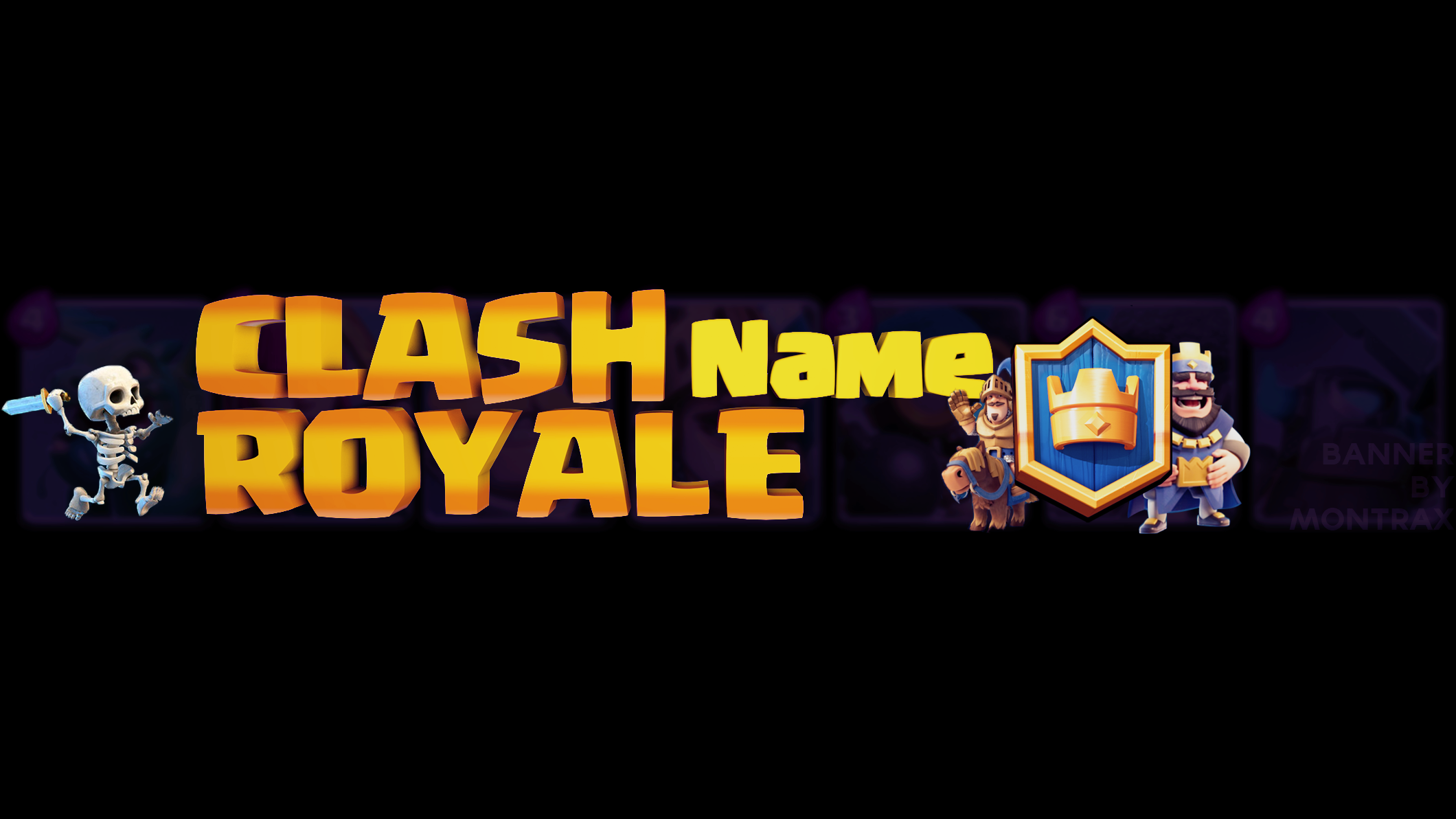 Clash Royale Banner Template By Montrax On Deviantart