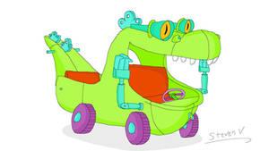 Reptar Wagon (Rugrats)
