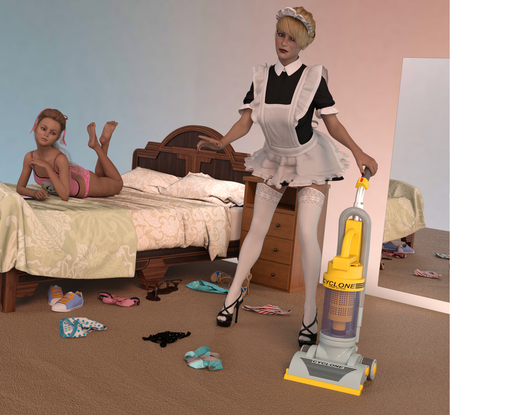 Mother Maid by sandradee791