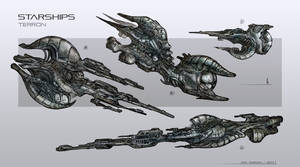 starships concept by Sola-li