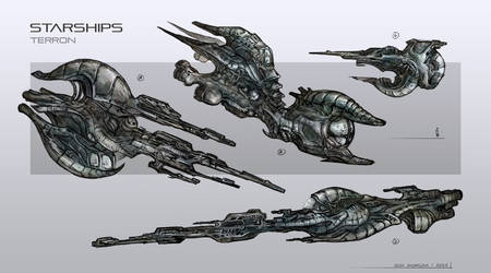 starships concept by Sola-li